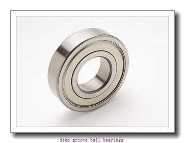 20 mm x 42 mm x 12 mm  ZEN S6004-2TS deep groove ball bearings