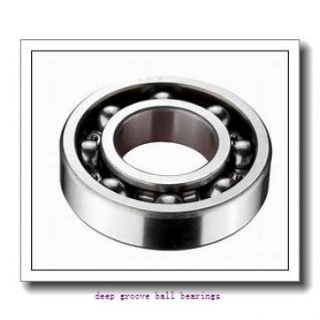 75 mm x 115 mm x 20 mm  KBC 6015ZZ deep groove ball bearings