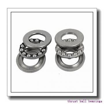 ISO 511/560 thrust ball bearings