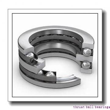 80 mm x 170 mm x 27 mm  NSK 54416 thrust ball bearings