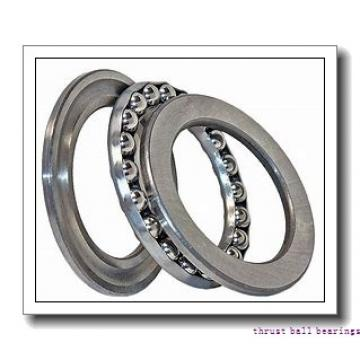 85 mm x 180 mm x 60 mm  SKF NU 2317 ECP thrust ball bearings