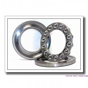 120 mm x 260 mm x 55 mm  SKF N 324 ECM thrust ball bearings