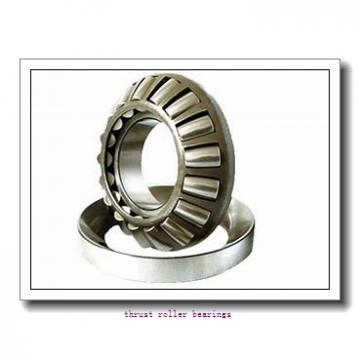 90 mm x 106 mm x 8 mm  IKO CRBS 908 A UU thrust roller bearings