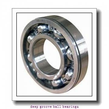 6 mm x 10 mm x 3 mm  ZEN MF106-2RS deep groove ball bearings