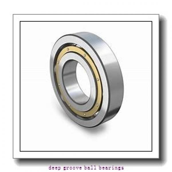 40 mm x 62 mm x 12 mm  NSK 6908DDU deep groove ball bearings #1 image