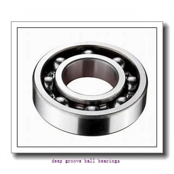 55 mm x 90 mm x 18 mm  NKE 6011-2Z-N deep groove ball bearings #1 image