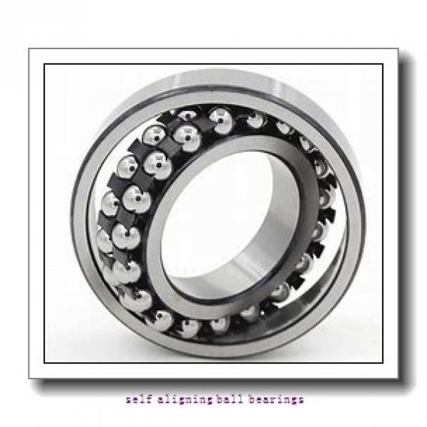 20 mm x 50 mm x 20 mm  NMB PBR20FN self aligning ball bearings #3 image