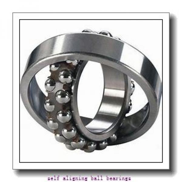 50 mm x 90 mm x 23 mm  NKE 2210-K-2RS+H310 self aligning ball bearings #2 image